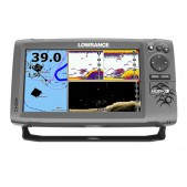 Echolotas Lowrance Hook 9 Mid/High/DownScan Chirp Combo