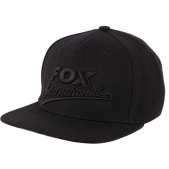 FOX kepurė Fox Black / Camo snap back special