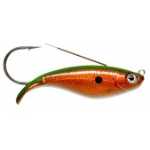 Rapala Weedless Shad WSD08 (HFCGR) Hologram Flake Copper Green